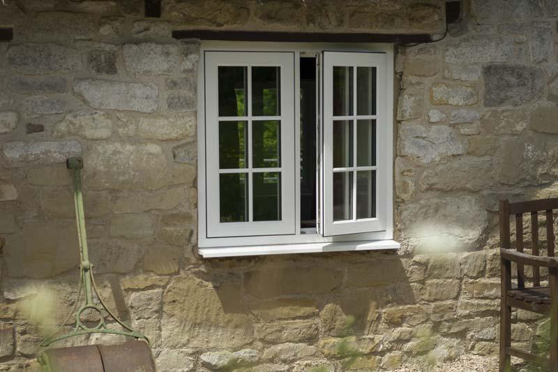Timber alternative flush windows brighton