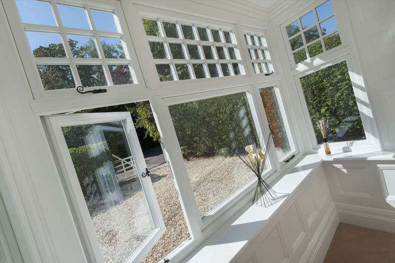Timber alternative windows shaws of brighton