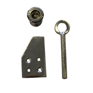 Vent lock polished chrome