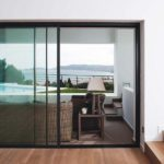 Balcony cor vision sliding door