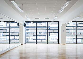 Commercial curtain walling shaws