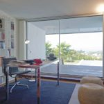 Interior cor vision sliding door office