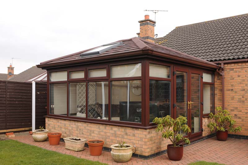 Lightweight tiled roof systems