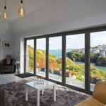 Origin bi fold door system showcasing beautiful view