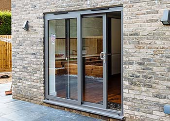 Patio sliding doors aluminium shaws