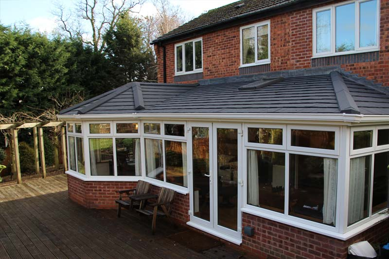 Shaws garden room roofs