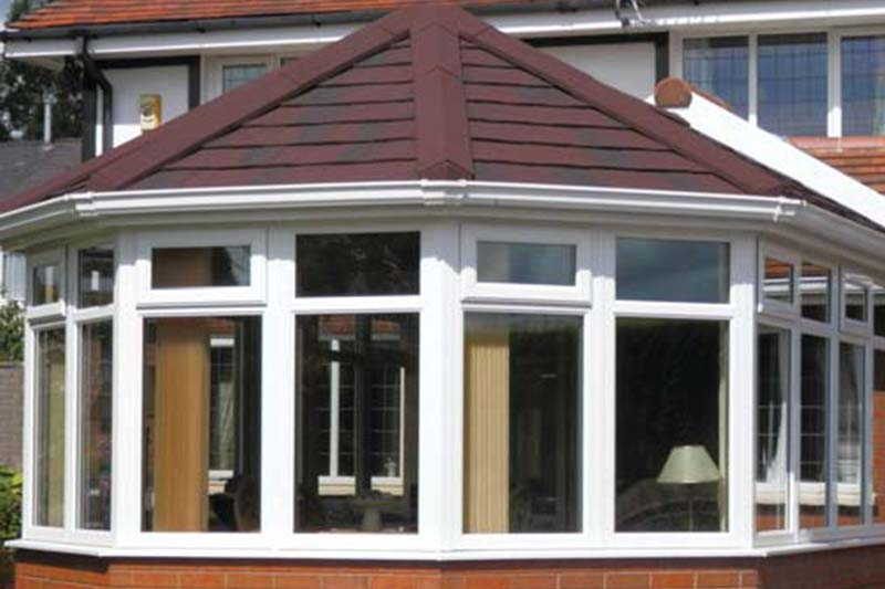 Tiled conservatory roof brighton