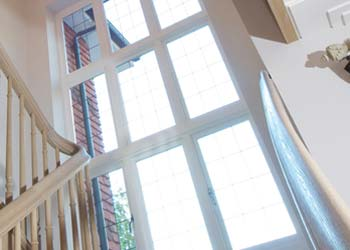 Timber feature windows shaws