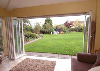 Upvc bi folding doors shaws
