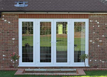 Upvc french double doors shaws