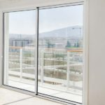 White framed 4700 sliding door