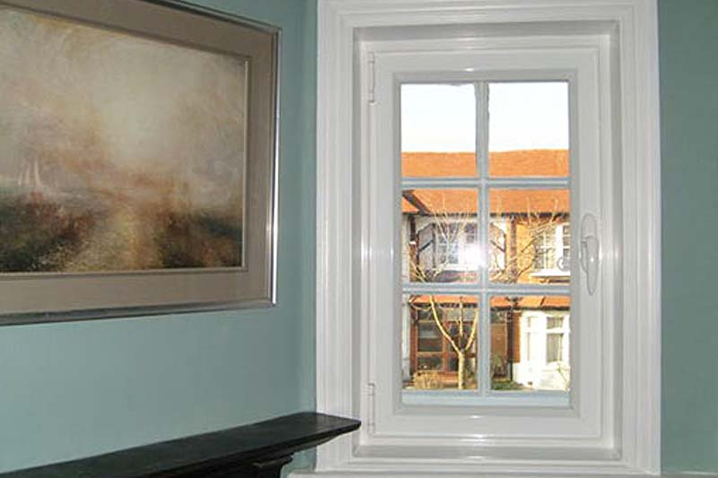 Hinged casement secondary glazing brighton