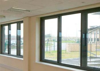 Horizontal sliding secondary glazing shaws