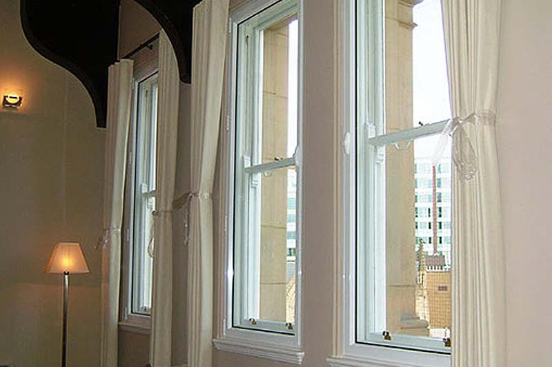 Shaws hinged casement secondary glazing