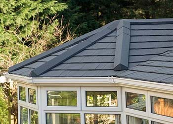 Tiled aluminium roofs shaws