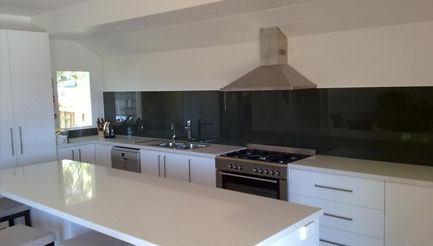 Coloured kitchen splashbacks brighton