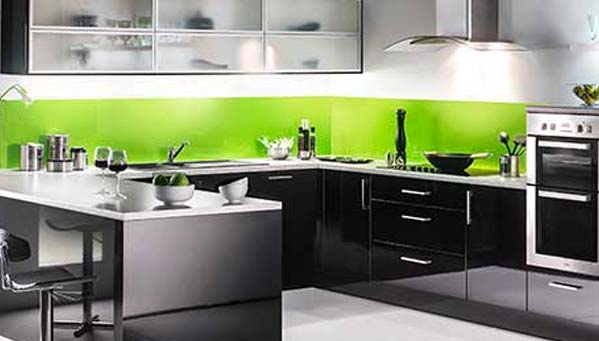 Custom colour splash backs shaws of brighton