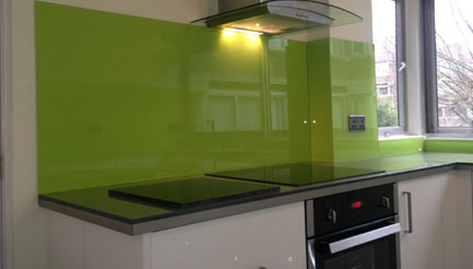 Green splashbacks brighton
