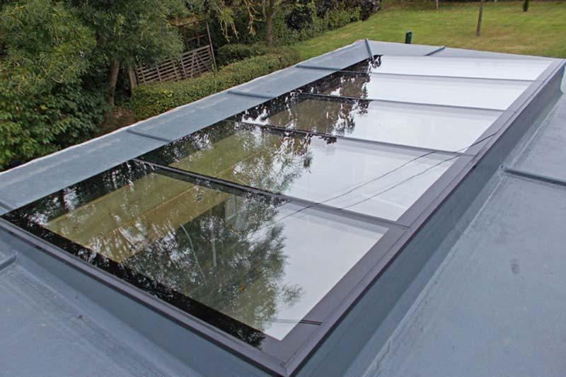 Flat roof lights shaws of brighton
