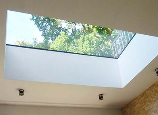Hinged opening flat roof lights brighton