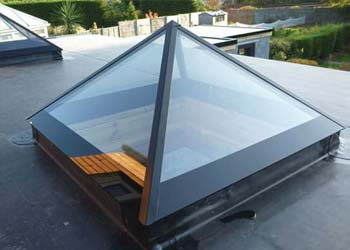 Pyramid roof lights shaws
