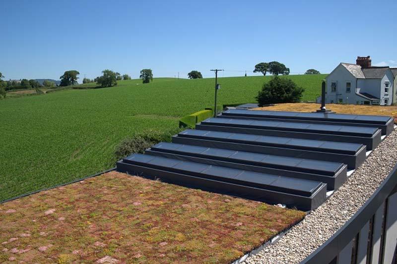 Shaws of brighton fixed flat roof lights