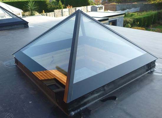 Shaws of brighton pyramid roof lanterns