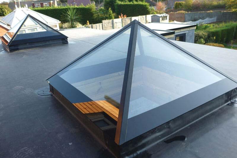 Shaws of brighton pyramid roof lights