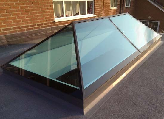 Slimline roof lanterns shaws of brighton