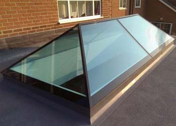 Slimline roof lights shaws