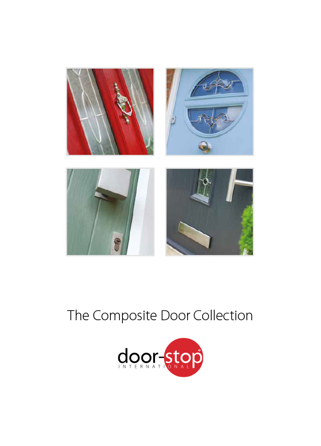 Door stop composite door collection