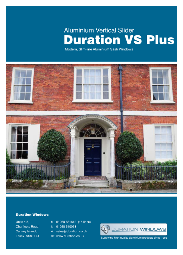 Durations vs600 vertical slider