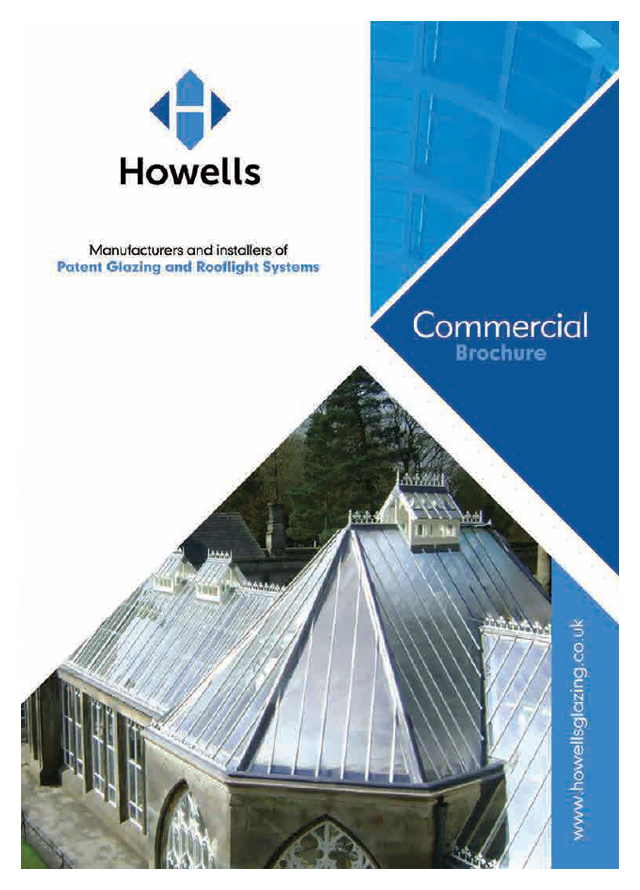 Howells glazing rooflight systems