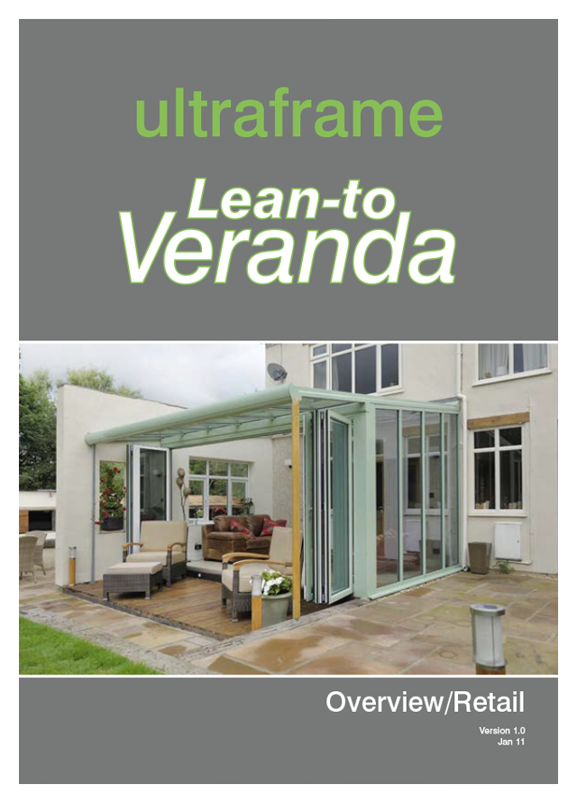 Lean to veranda by ultraframe