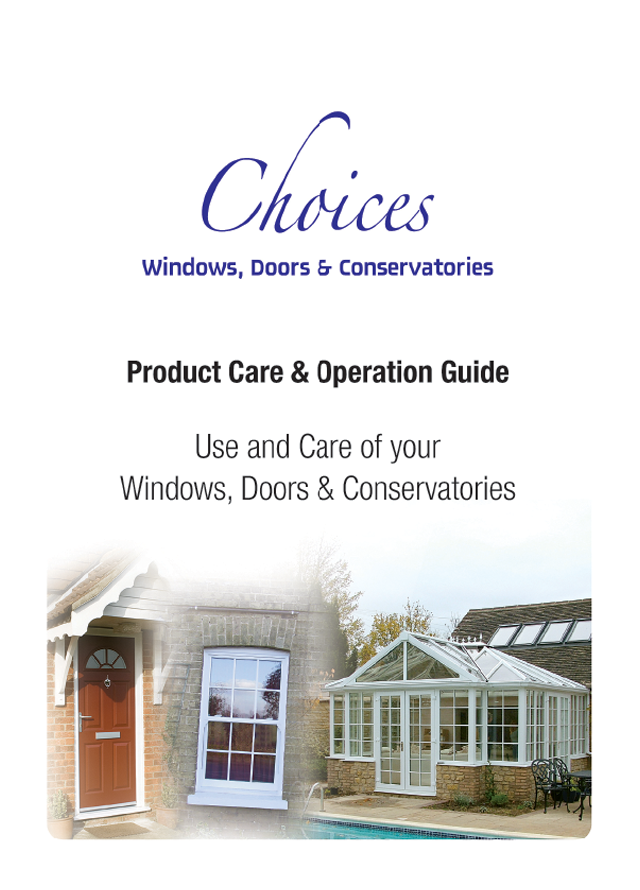 Product care guide