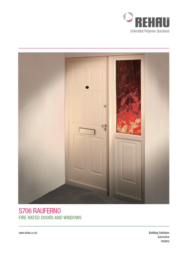 Rauferno fire rated windows doors