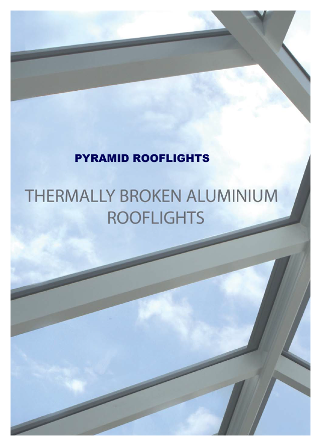 Shaws pyramid ally roof lanterns