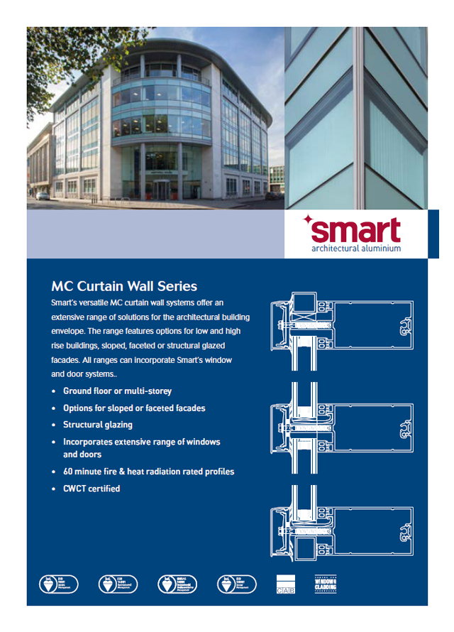 Smart mc curtain wall