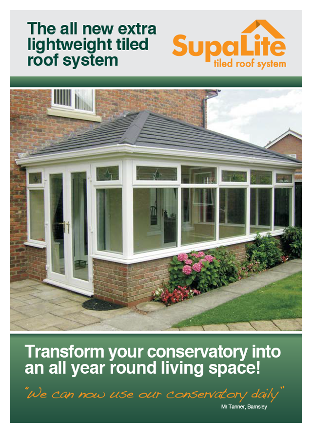 Supalite roof system extra lightweight