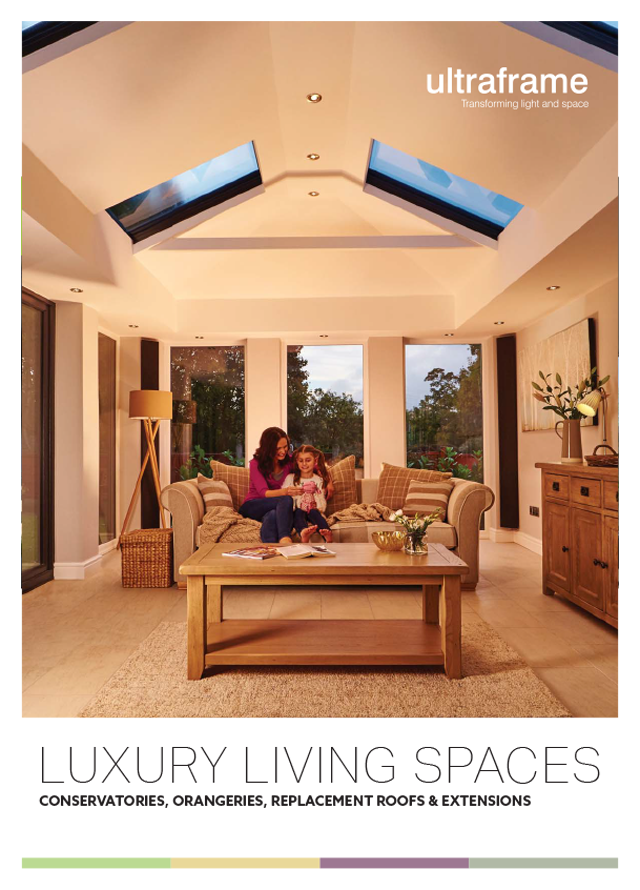 Ultraframe luxury living spaces