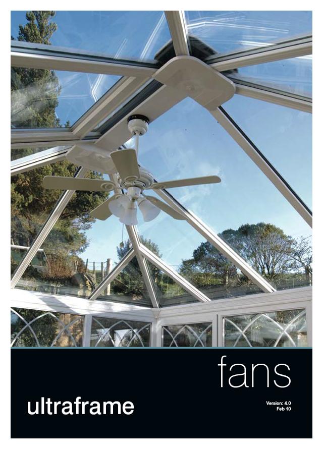 Ultraframe ceiling fans