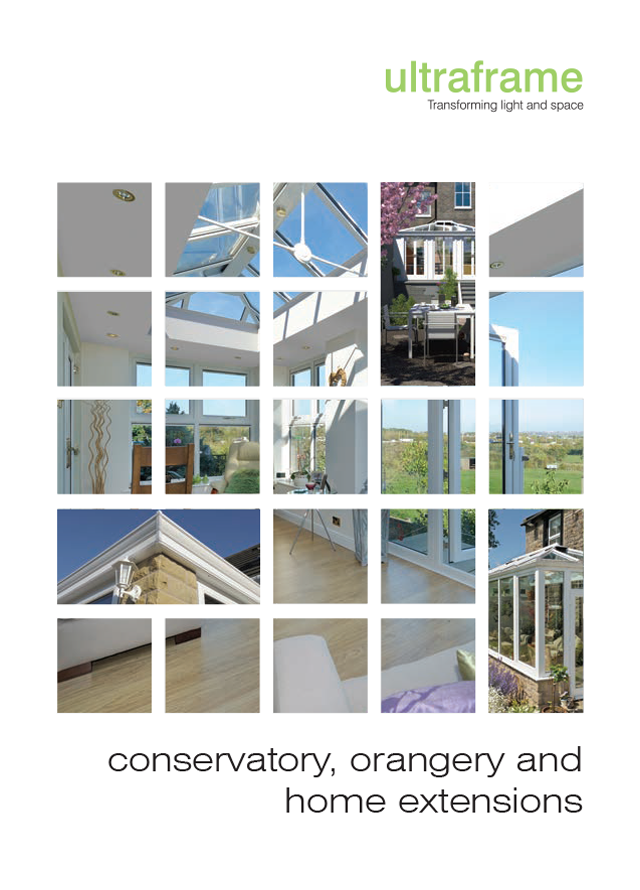 Ultraframe conservatory orangery home extensions