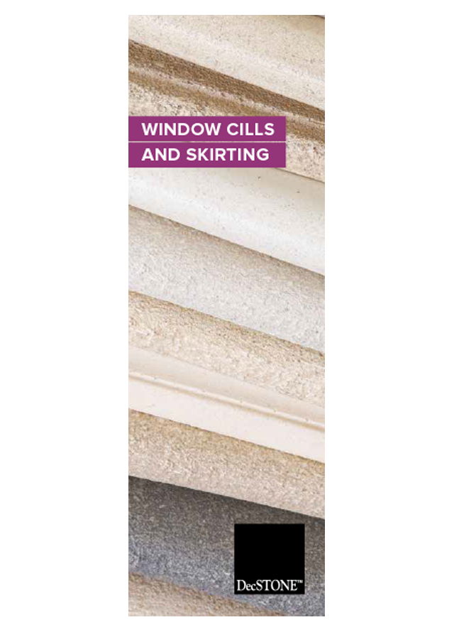 Decostone window cills skirting