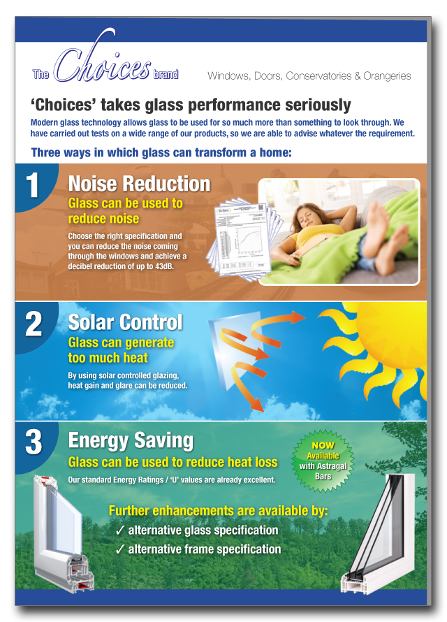 Glazing solutions