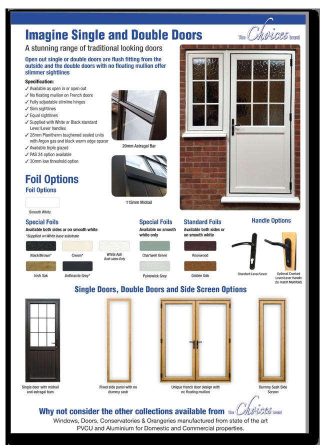 Imagine windows and doors