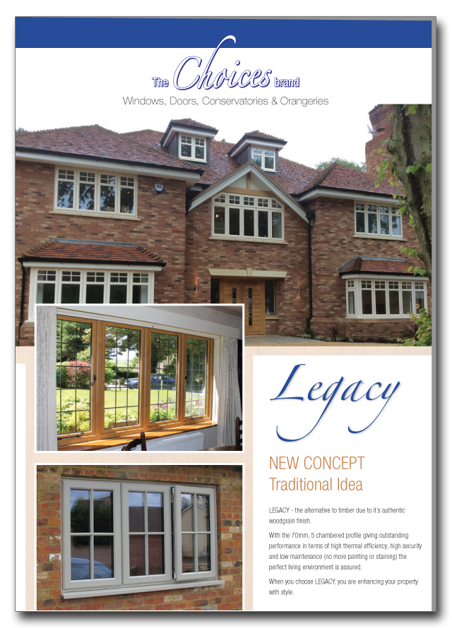 Timber alternative windows