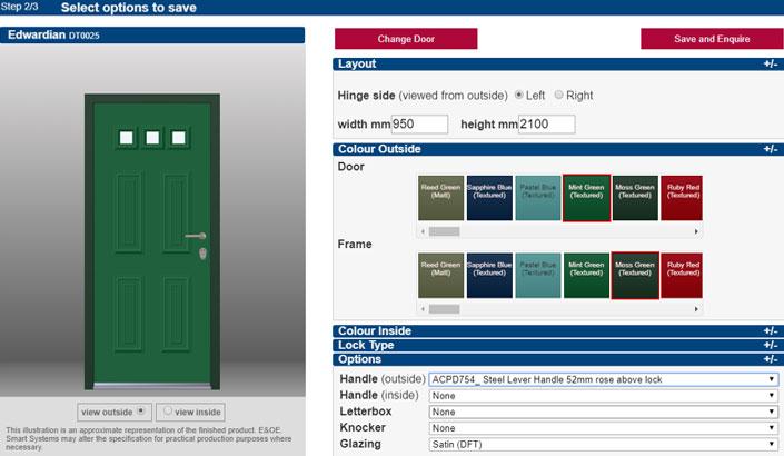 Smarts interactive door designer