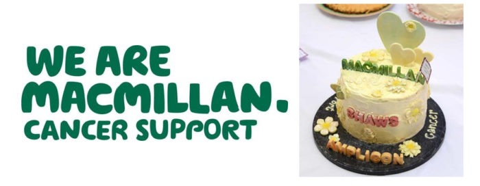 Picture of Shaws of Bright macmillan cancer cake winners