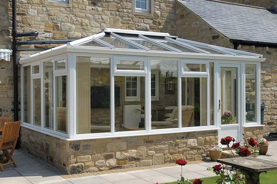 Ultraframe classic conservatory roofs shaws of brighton
