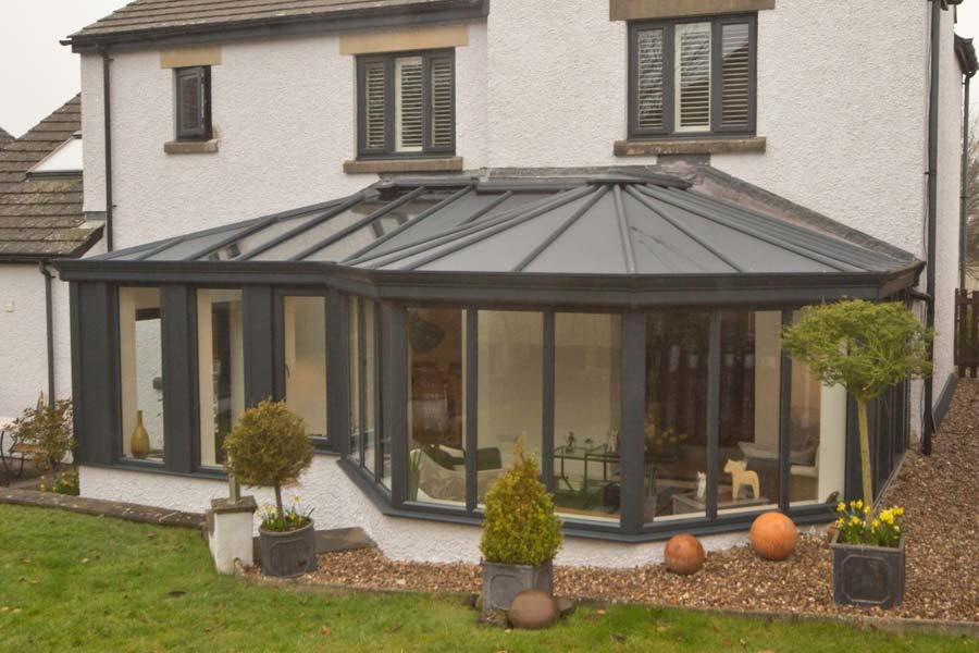 Ultraframe livinroof conservatory roof shaws of brighton